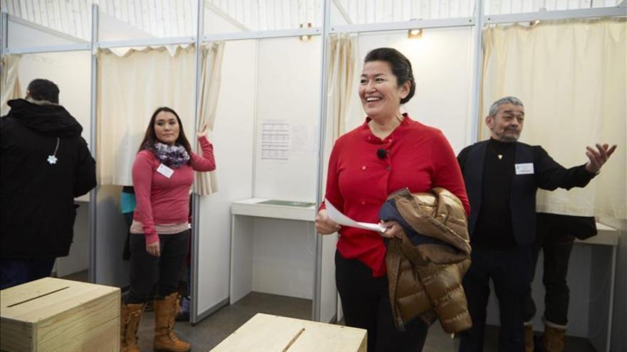 Los socialdemócratas repiten triunfo en Groenlandia por un estrecho margen