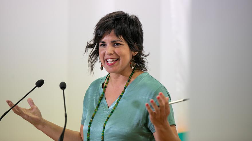 """Teresa Rodríguez respalda concurrir como Adelante Andalucía """"para sumar"""" y que haya un grupo andaluz en el Congreso"""