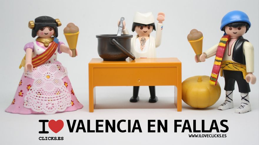 I love Valencia en fallas