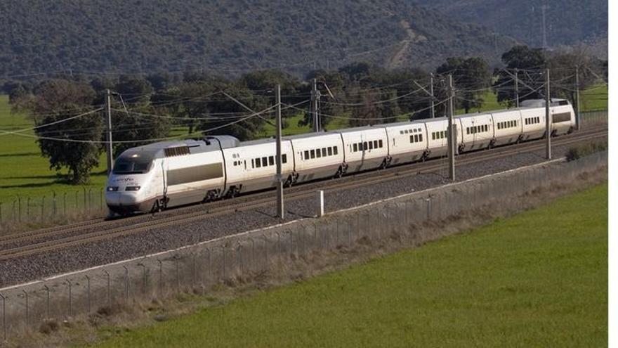 Un tren AVE