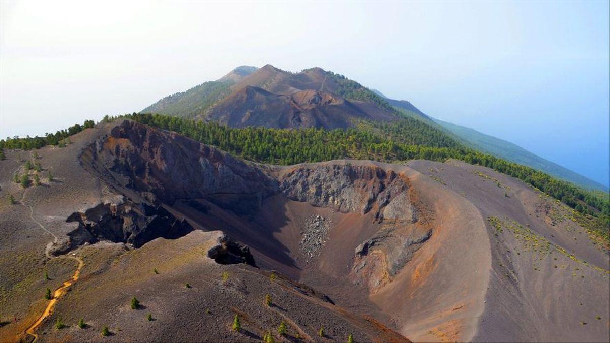 Volcanes de Cumbre Vieja.