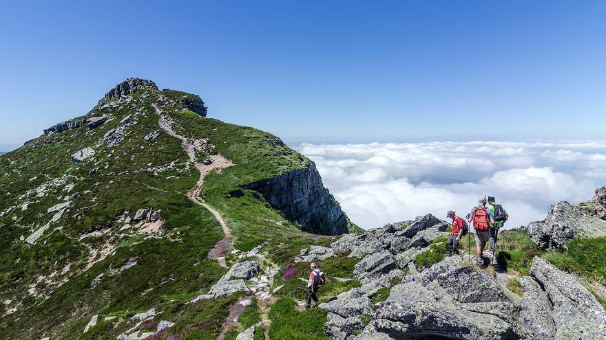 Los paisajes cántabros son uno de los principales atractivos para los ecoturistas.   JAVIER MAZA PÉREZ