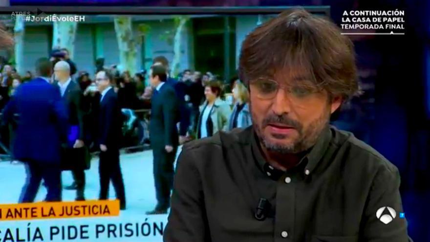 "Jordi Évole: ""Meter en la cárcel a todo un gobierno autonómico me duele"""