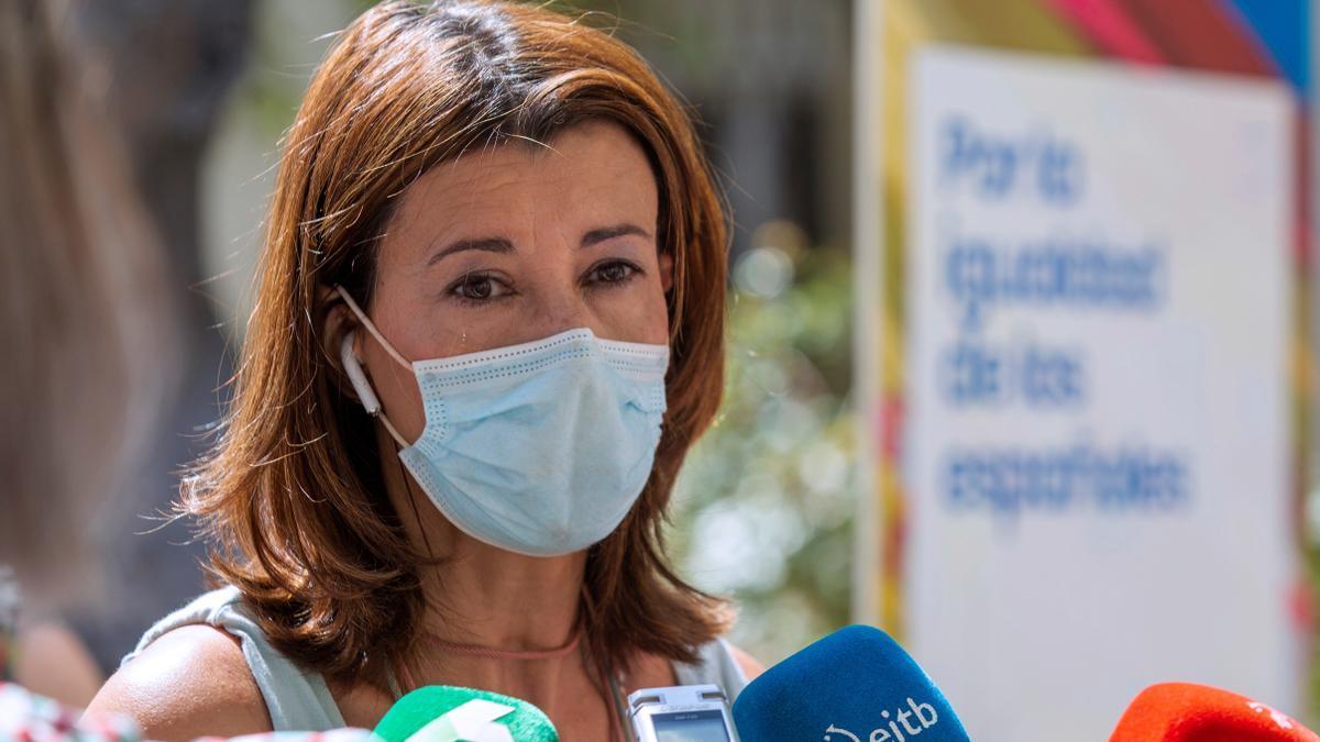 La secretaria general del PP vasco, Laura Garrido.