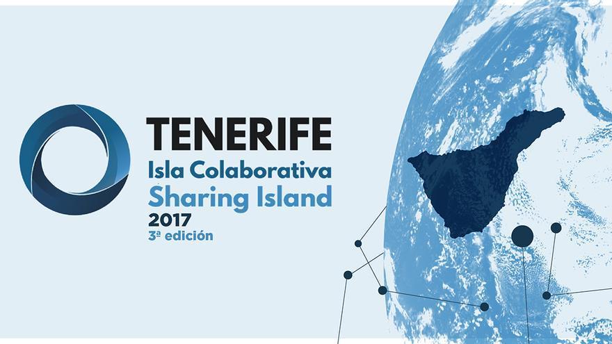 Cartel de Tenerife Isla Colaborativa 2017