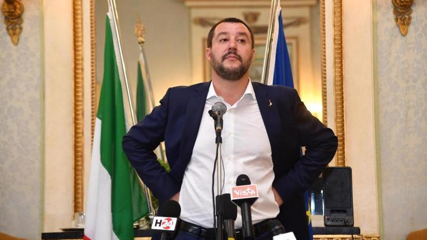 Salvini espera que Aquarius no sea la única nave humanitaria que España acoja