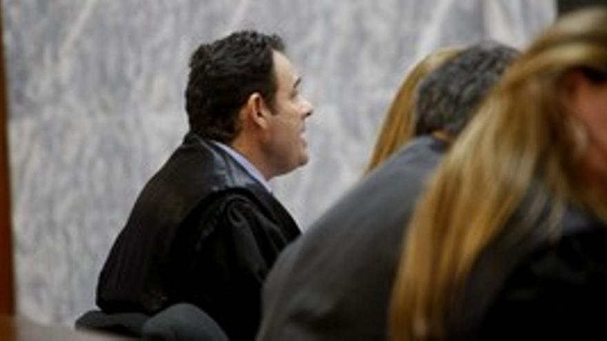Ángel Luis Calonge, en la sesión de este jueves. (ACFI PRESS)