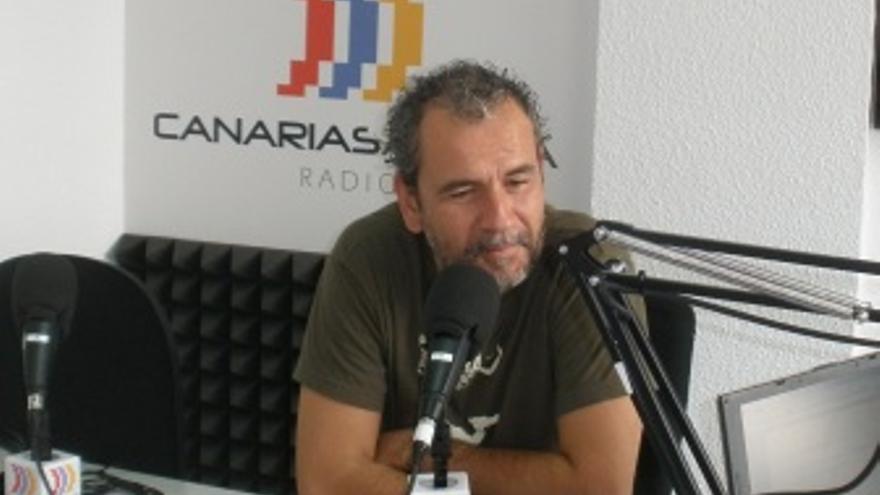 Willy Toledo, durante su entrevista en 'El Correíllo'. (EUROPA PRESS)