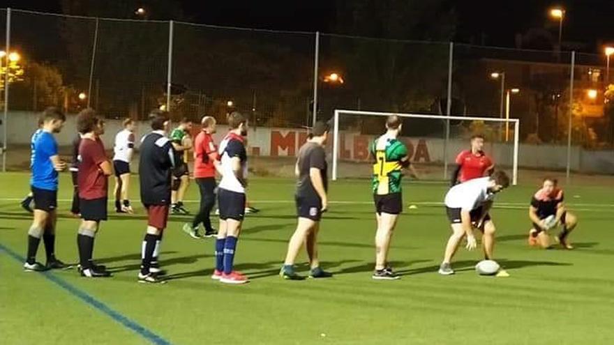 Jugadores del Mezquita Rugby entrenan, en imagen de archivo | MEZQUITA RUGBY