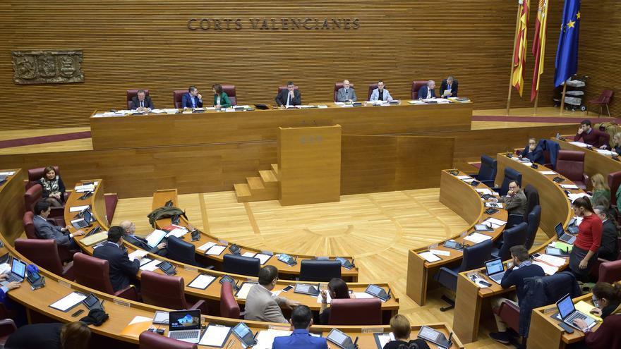 El pleno de les Corts da el visto bueno a la ley de Acompañamiento a los Presupuestos