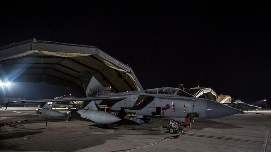 """Londres despliega cuatro aviones Tornados en un """"ataque exitoso"""" en Siria"""