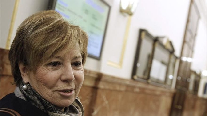 Celia Villalobos vota, junto con el PSOE, retirar la reforma del aborto