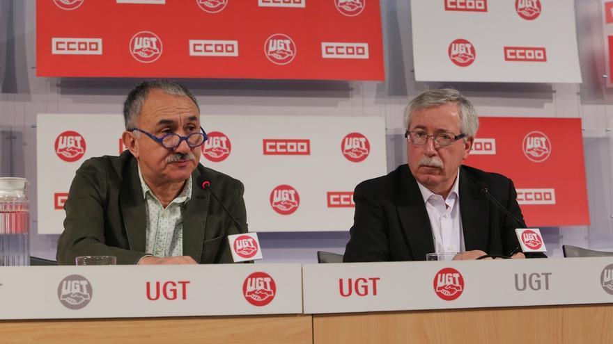 CCOO y UGT convocan movilizaciones en diciembre por los límites del Gobierno al diálogo social