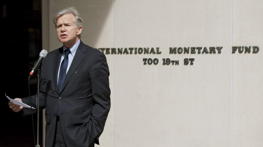 El FMI dice que el BCE tiene margen de acción por la rebaja de las presiones inflacionarias