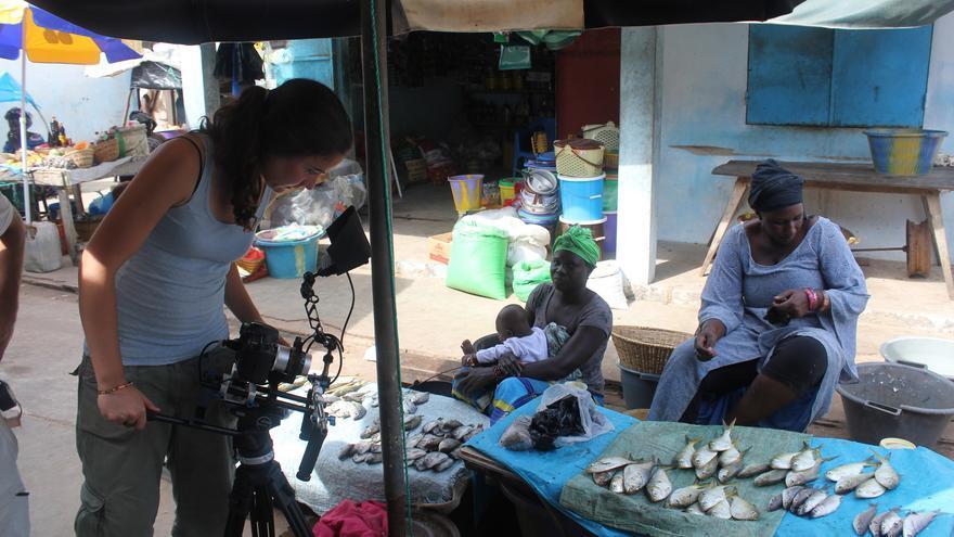 Un momento del rodaje del documental 'Kásuumay'.