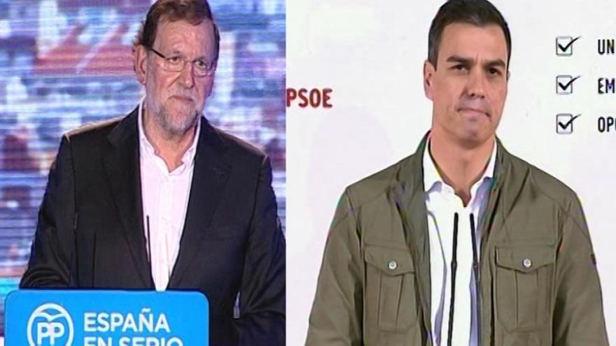 Rajoy tendrá un único debate electoral con Pedro Sánchez durante la campaña