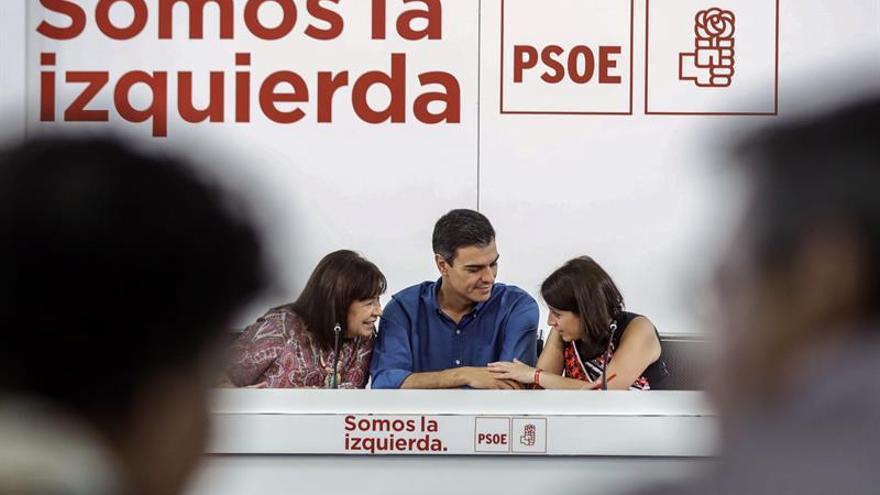 Adriana Lastra y Rafael Simancas, número dos y tres del PSOE en el Congreso