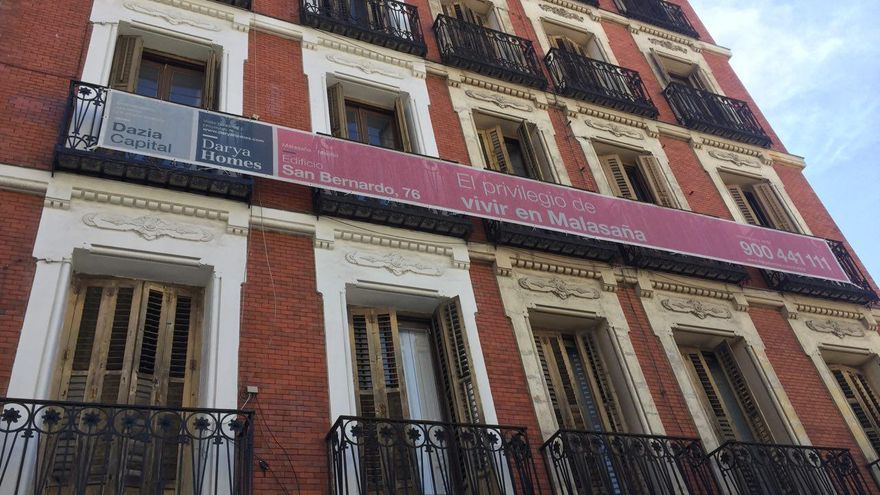 Promoción de viviendas de lujo en San Bernardo 76