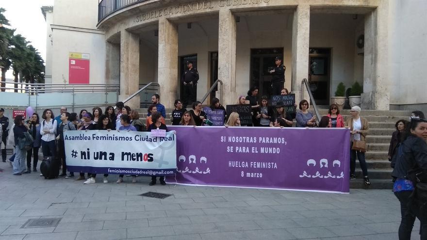 Movilización en Ciudad Real