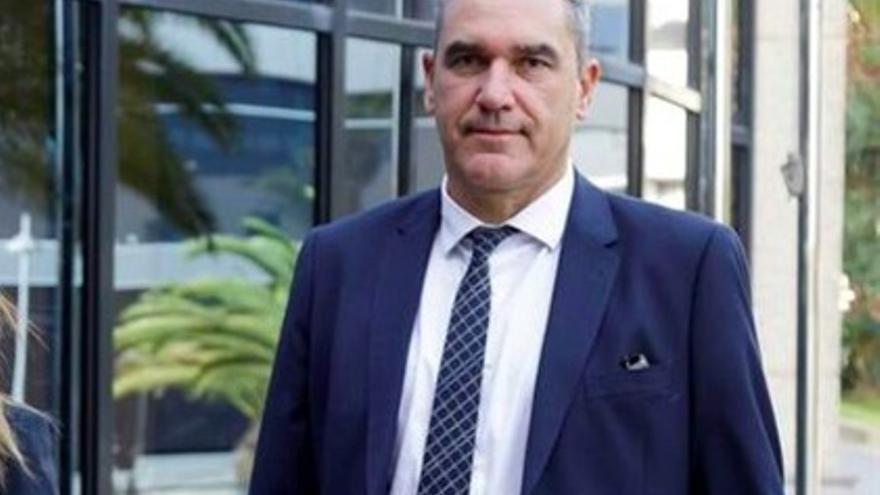 Juan Ramón Lezcano, concejal de Cs en Santa Cruz de Tenerife.