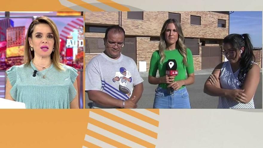 Carmen Chaparro, ayer martes en 'Cuatro al día'