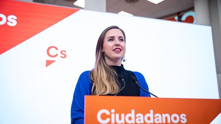 Melisa Rodríguez, portavoz nacional de la nueva Ejecutiva de Ciudadanos.
