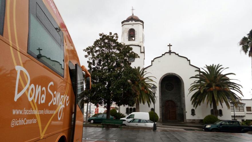Unidad móvil del ICHH  en San Andrés y Sauces.