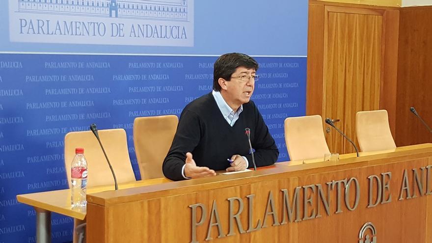 """C's Andalucía urge a Cifuentes a pedir perdón y señala que el PP se ha quitado """"la careta"""""""