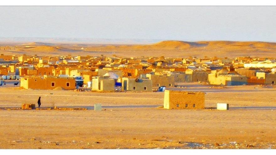 Wilaya de Auserd en los campamentos de refugiados saharauis en Tinduf