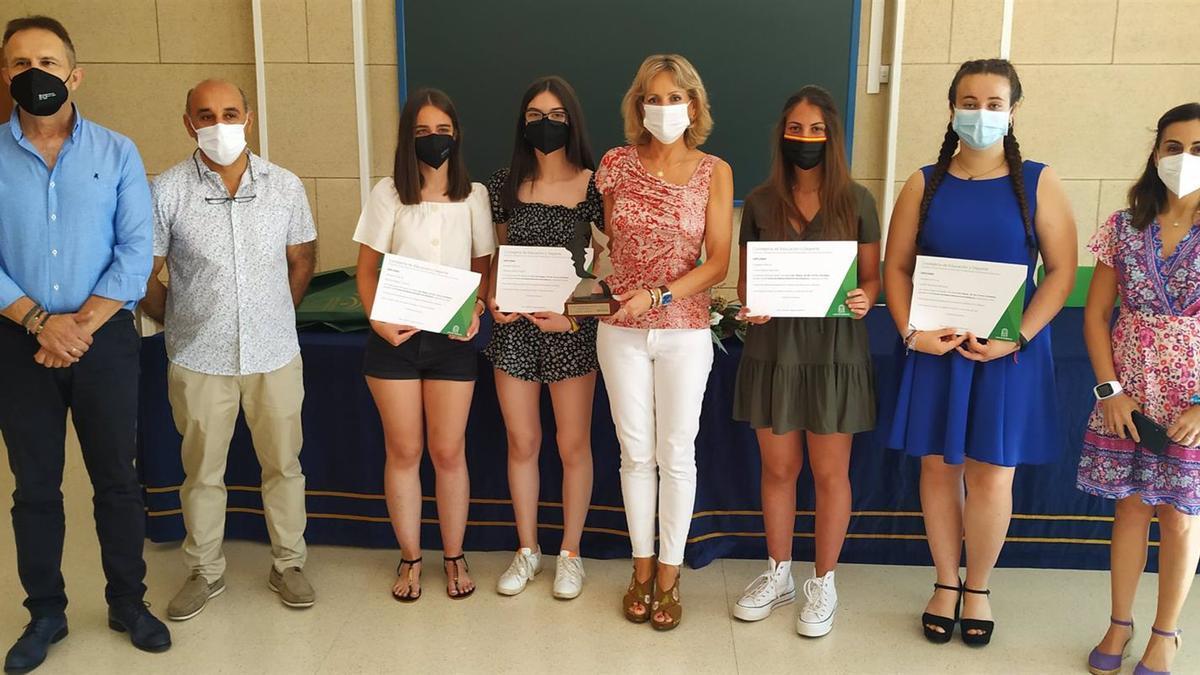 Premios a los alumnos del IES San Roque.