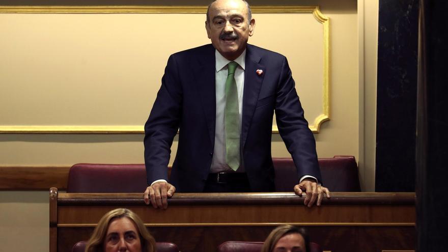 José María Mazón, primer diputado del PRC en el Congreso.