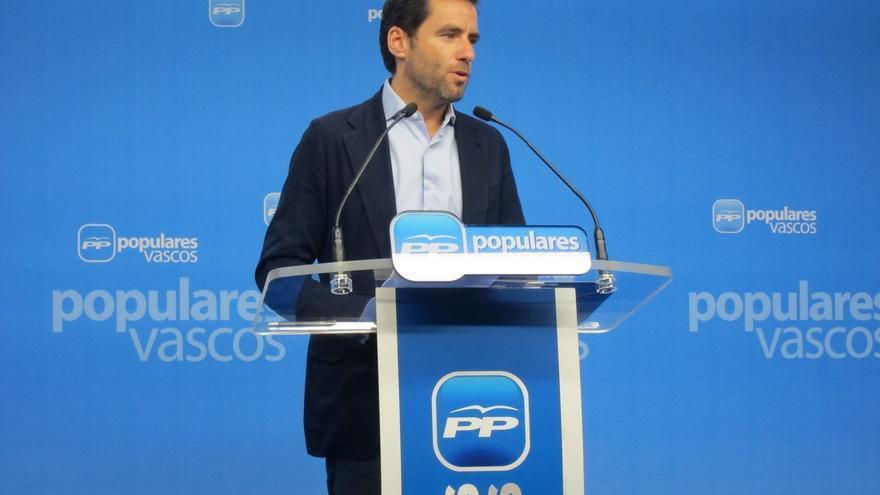 """Sémper (PP) llama a que los diputados vascos """"trasciendan de las siglas"""" y se unan """"en un grupo de presión"""""""