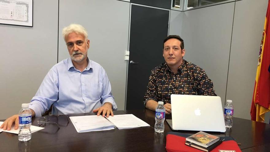 Eduardo Moga (izquierda) y Fran Amaya