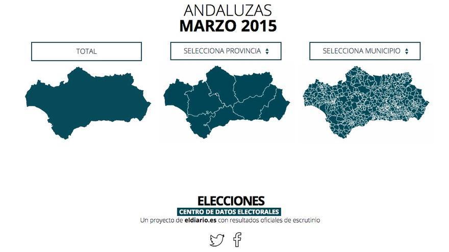 Centro da datos electorales de eldiario.es