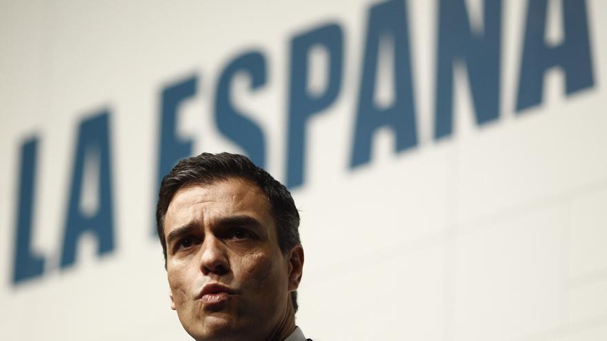 Sánchez dice que el cambio no llegará si la mayoría que apuesta por él se divide