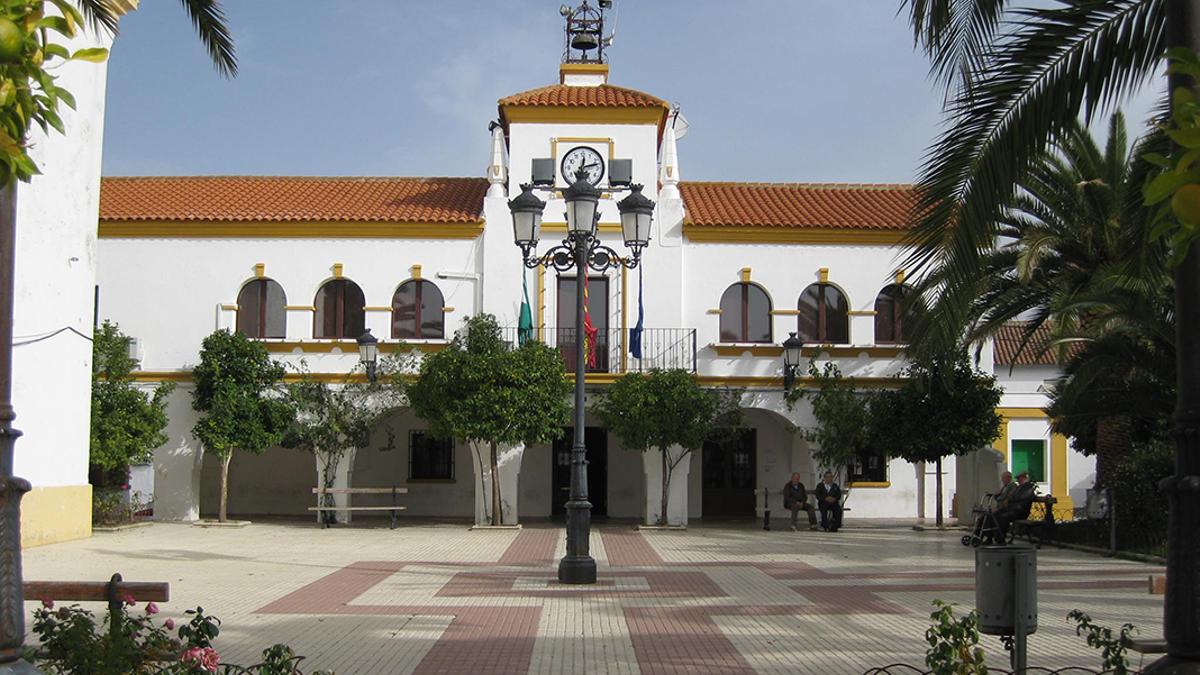Plaza del Ayuntamiento de Valsequillo.
