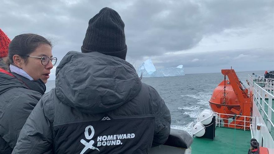 El pasaje de Drake, la turbulenta prueba de 80 científicas rumbo a la Antártida