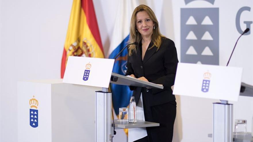 La consejera de Hacienda del Gobierno de Canarias, Rosa Dávila