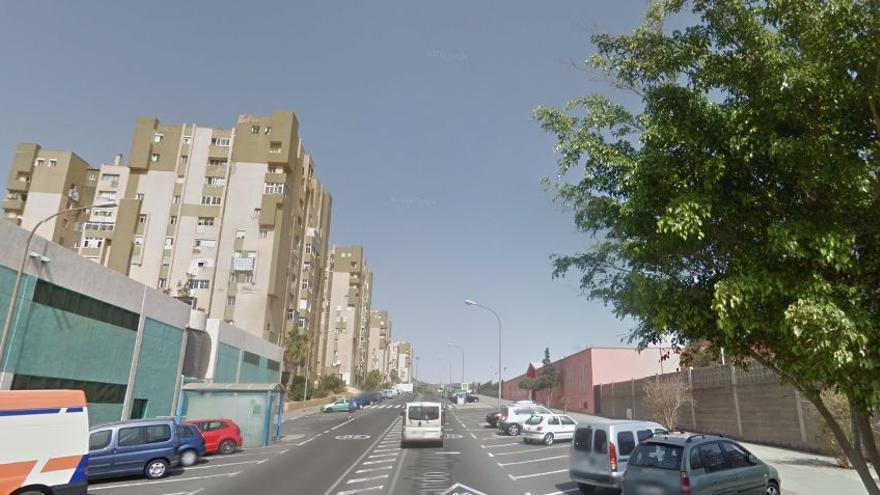 Calle Fernando Sagaseta de Telde, donde ocurrieron los hechos.