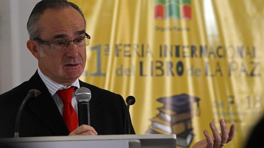 Embajador dice que las firmas españolas se interesan en Bolivia en el plano de igualdad
