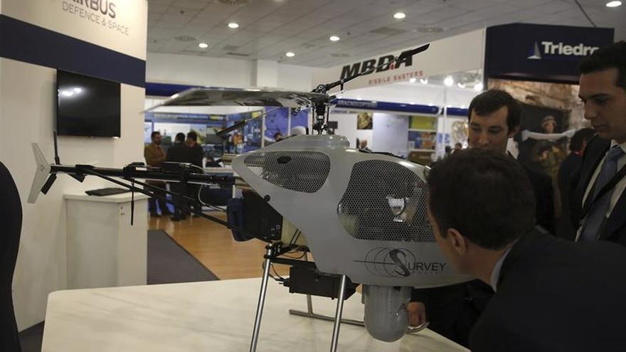 Presentan en Madrid un sistema de detección e identificación de pequeños drones