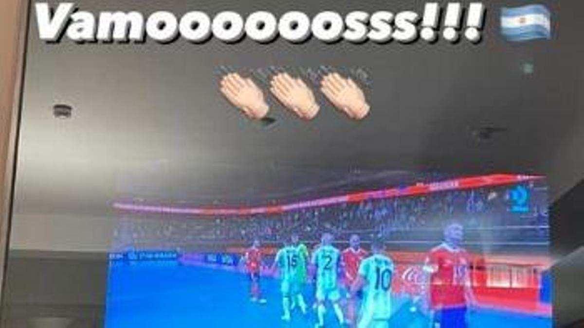 Publicación de Messi en Instagram