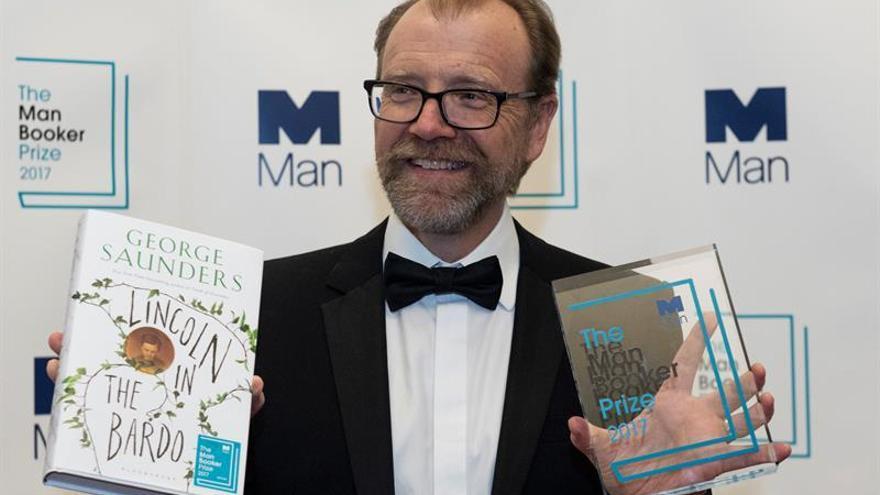 George Saunders gana el premio Man Booker 2017 de ficción