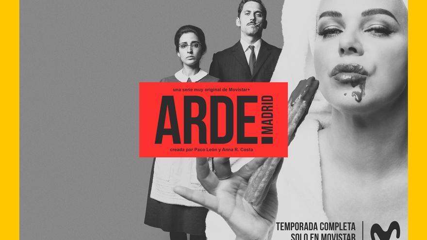 Inma Cuesta, Paco León y Debi Marzar son Ana Mari, Manolo y Ava Gardner, protagonistas de 'Adre Madrid'.
