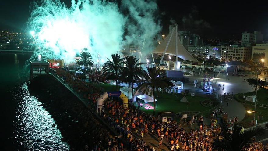 Imagen de la LPA Night Run. (Facebook oficial: LPA Nightrun).