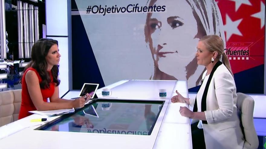 Ana Pastor entrevista a Cristina Cifuentes en El Objetivo