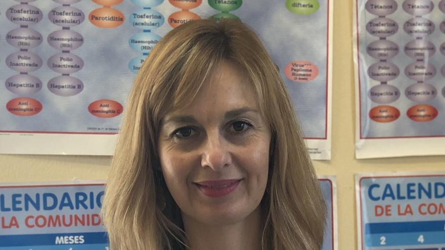 Rita Mendoza, candidata a la Presidencia del Colegio Oficial de Enfermería de Las Palmas por el colectivo Más Enfermería.