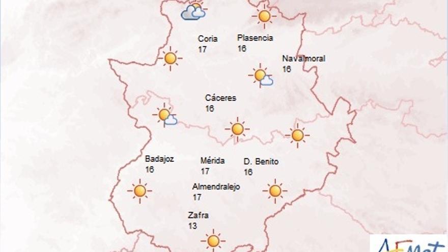 Predicción meteorológica, Extremadura / AEMET