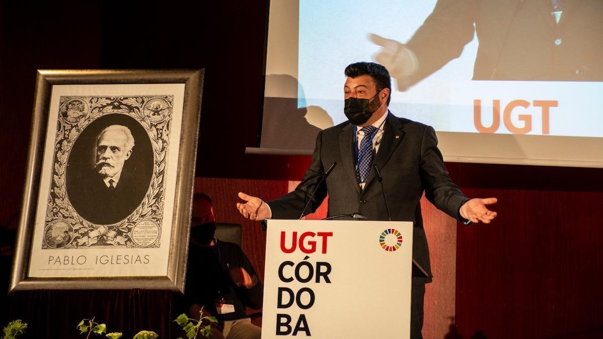 Vicente Palomares, secretario general de UGT Córdoba