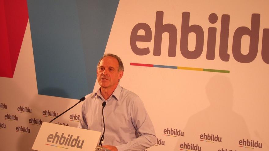 """Araiz (EH Bildu) afirma que """"seguir con el proyecto del TAV"""" es """"ir contra la dirección del cambio político"""""""